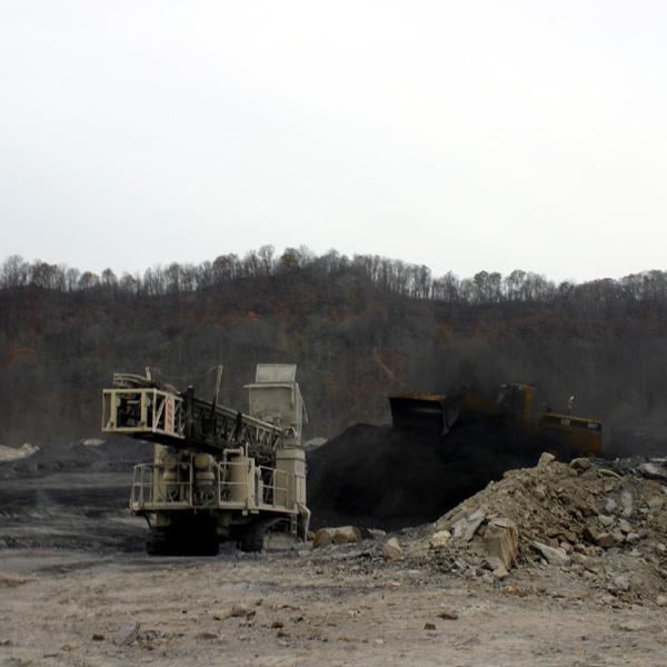 Western us strip coal mines