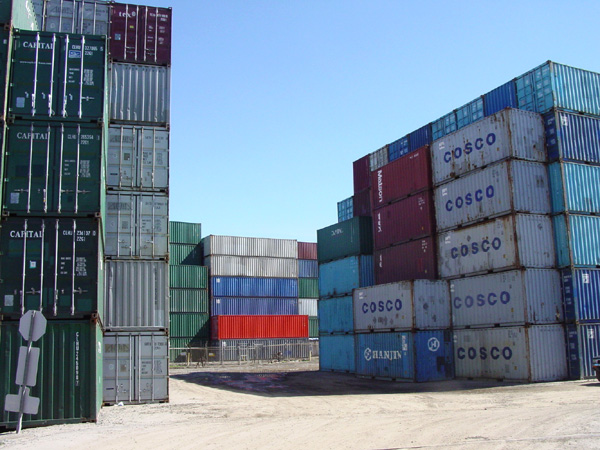 Shipping Containers - Woo Hoo!